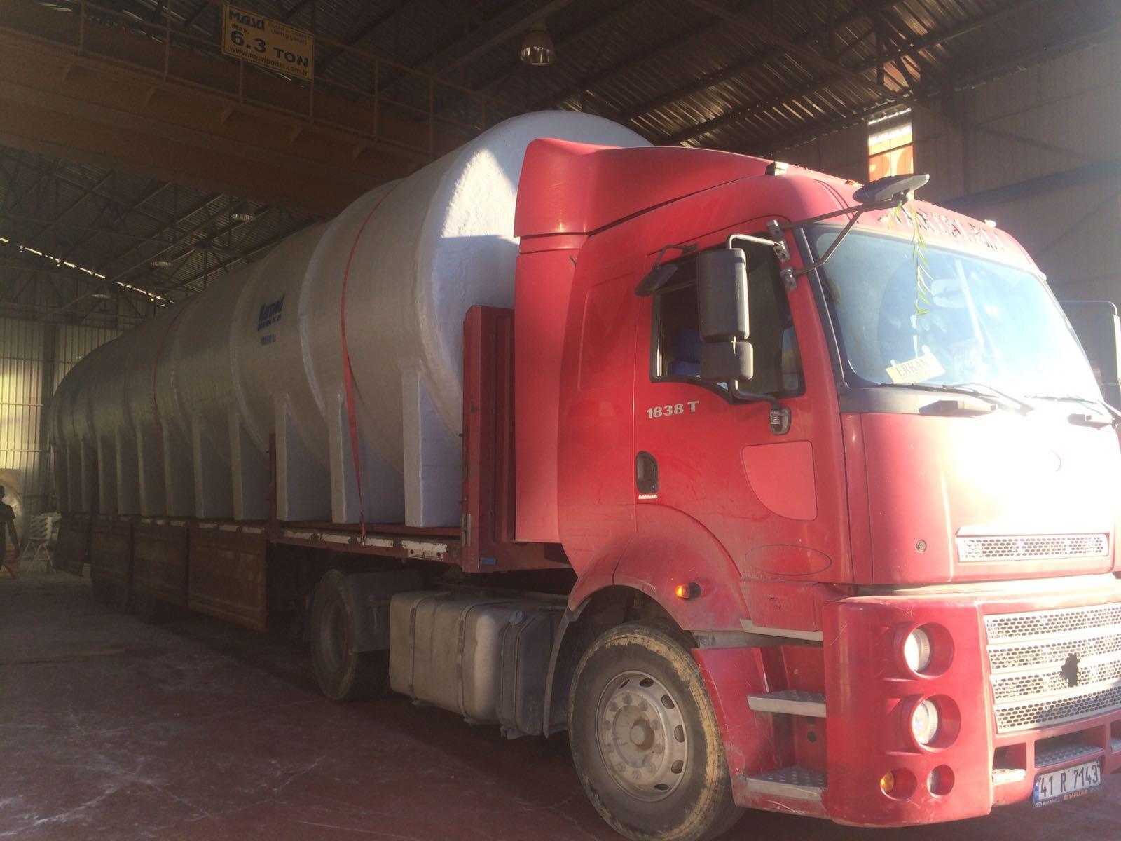 100 Ton Foseptik Tankı 0216 494 28 29
