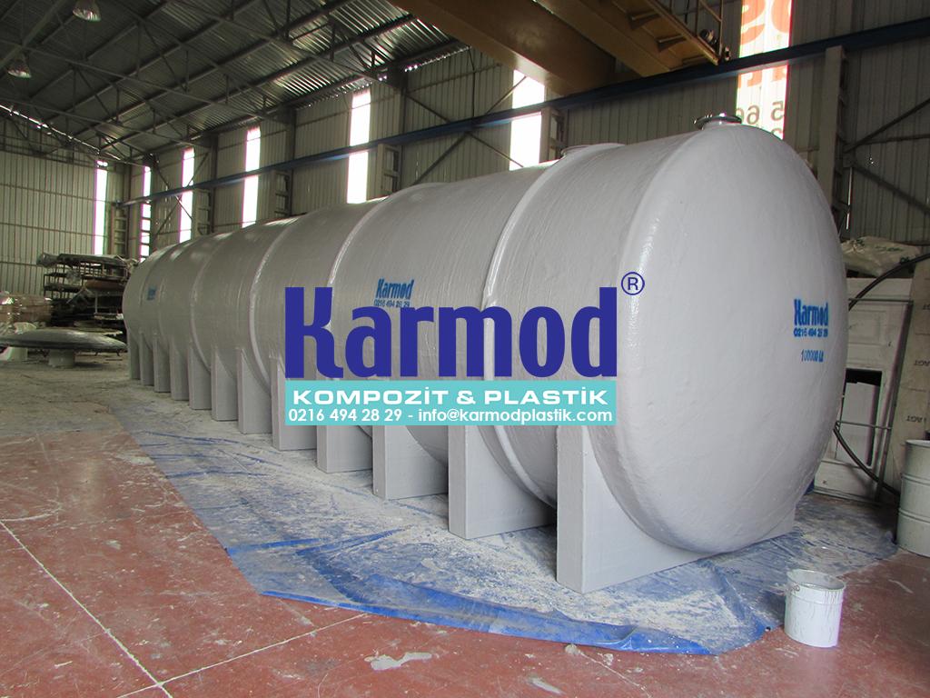100 Ton Özel Üretim Polyester Depolama Tankı 0216 494 28 29