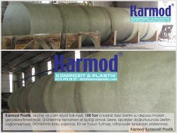 Karmod 100 Ton Su Tankı 0216 494 28 29