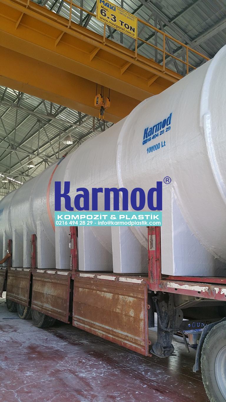 Karmod 100 Ton Su Depo Tankı 0216 494 28 29