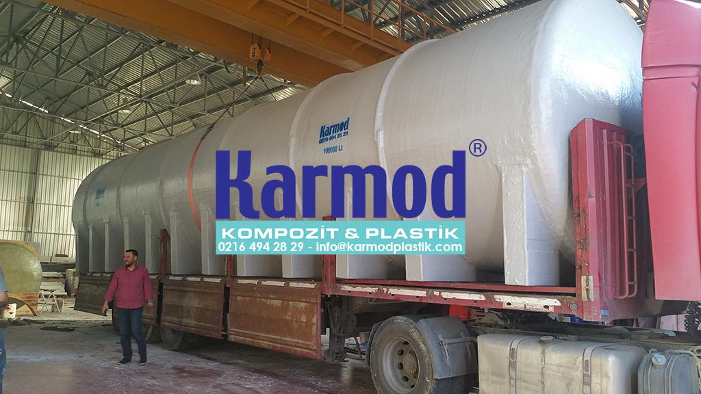 Karmod 100 Ton Su Depolama Tankı 0216 494 28 29