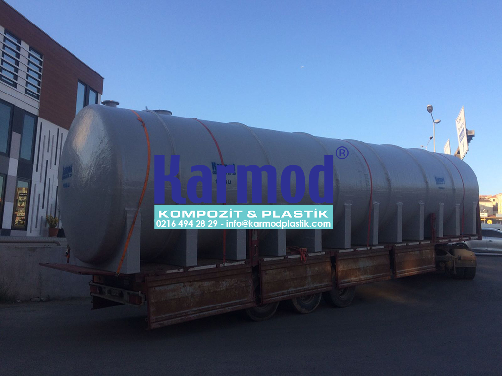 Karmod 100 Ton Su Depolama Tankları