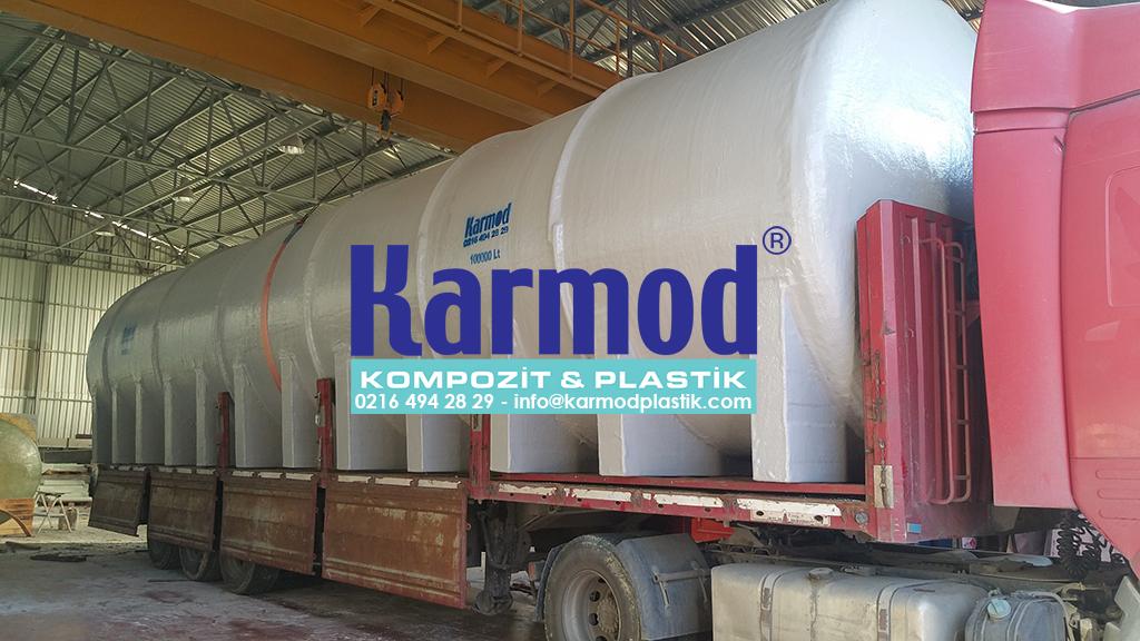 Karmod 100 Ton Su Deposu 0216 494 28 29