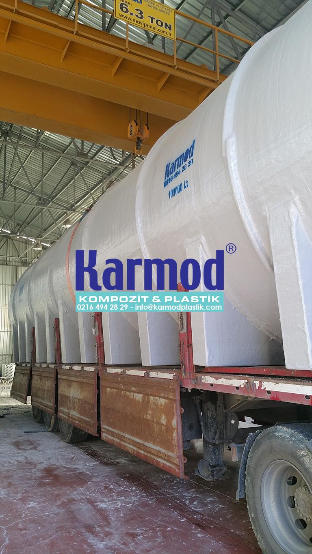 Karmod 100 Ton Su Saklama Deposu 0216 494 28 29