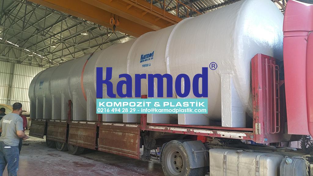 Karmod 100 Ton Toprak Altı Su Deposu