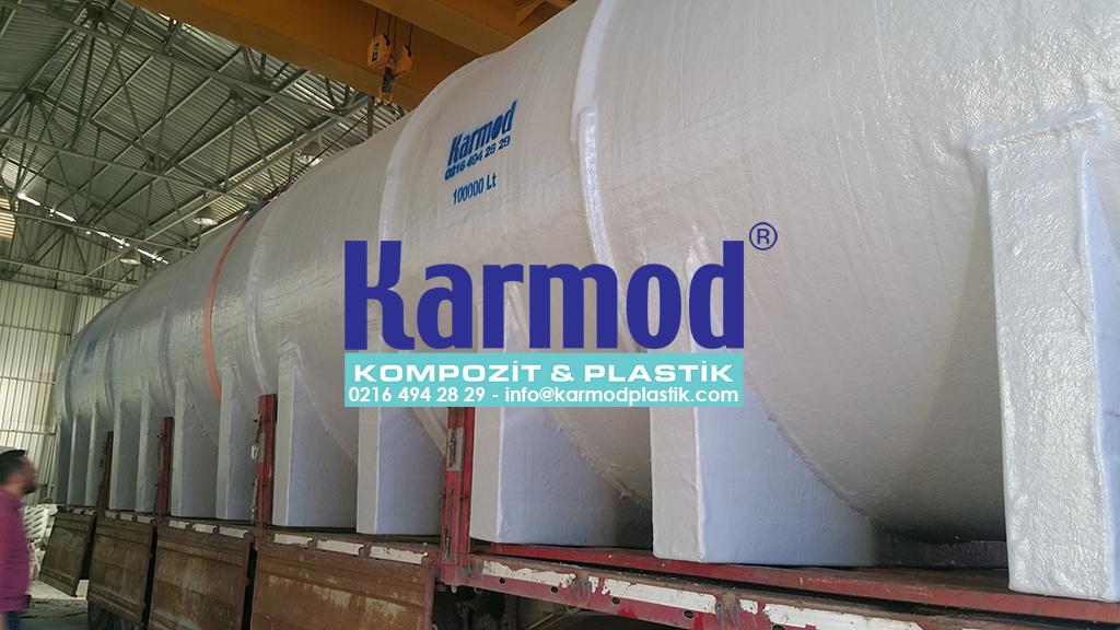 Karmod Özel Üretim 100 Ton Su Tankı 0216 494 28 29