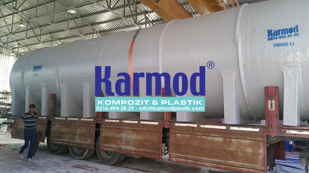 Karmod Polyester 100 Ton Su Deposu 0216 494 28 29