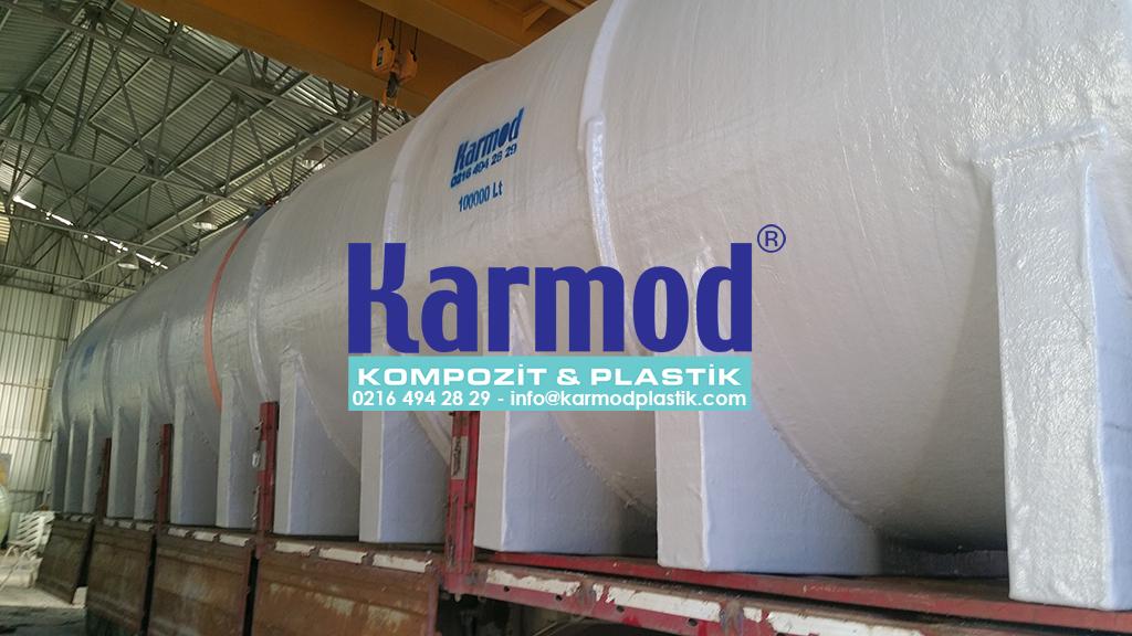 Karmod Polyester 100 Ton Su Tankı 0216 494 28 29