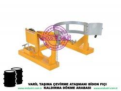 varil taşıma arabası varil devirme kaldırma boşaltma elleçleme paletleme yerleştirme dökme ataşmanı fiyatı (11)