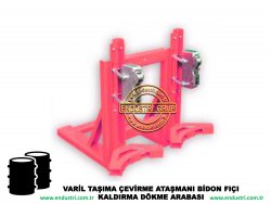 varil taşıma arabası varil devirme kaldırma boşaltma elleçleme paletleme yerleştirme dökme ataşmanı fiyatı (13)