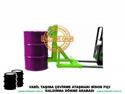varil taşıma arabası varil devirme kaldırma boşaltma elleçleme paletleme yerleştirme dökme ataşmanı fiyatı (2)
