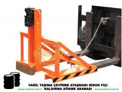 varil taşıma arabası varil devirme kaldırma boşaltma elleçleme paletleme yerleştirme dökme ataşmanı fiyatı (3)