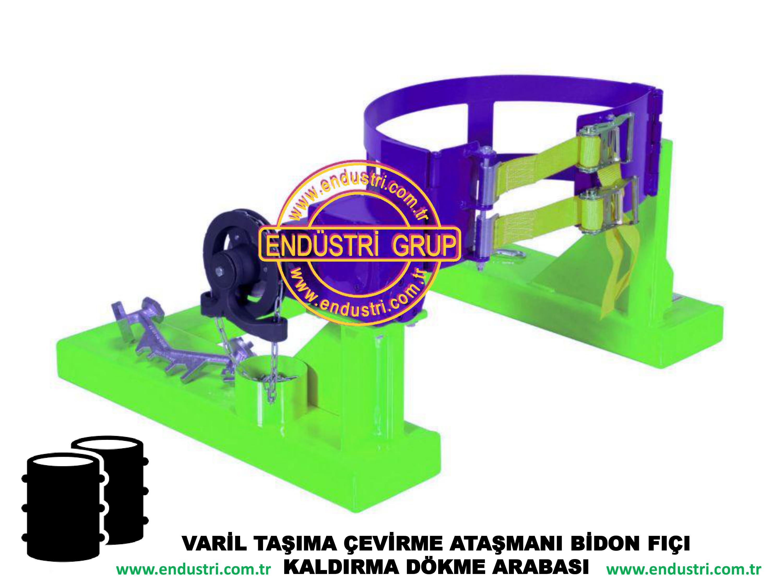 varil taşıma arabası varil devirme kaldırma boşaltma elleçleme paletleme yerleştirme dökme ataşmanı fiyatı (10)