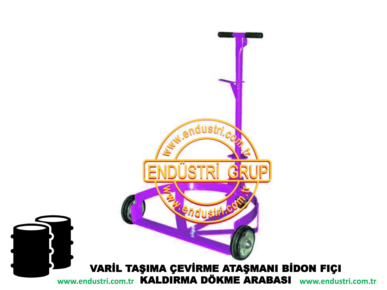 varil taşıma arabası varil devirme kaldırma boşaltma elleçleme paletleme yerleştirme dökme ataşmanı fiyatı (30)