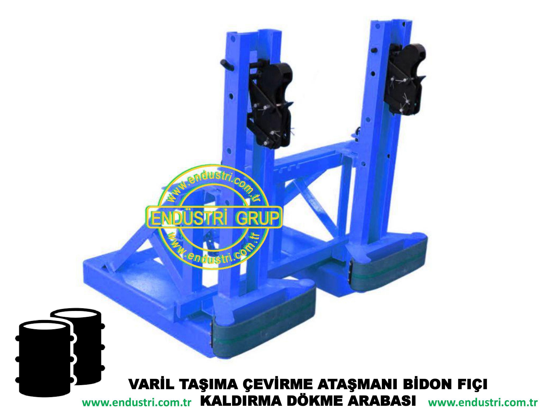 varil taşıma arabası varil devirme kaldırma boşaltma elleçleme paletleme yerleştirme dökme ataşmanı fiyatı (7)