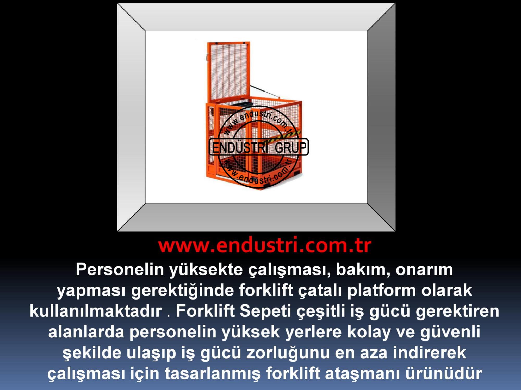 forklift personel tasima sepeti kaldirma ilkyardim bakim tamir sepetleri personel platformu imalati fiyati (10)