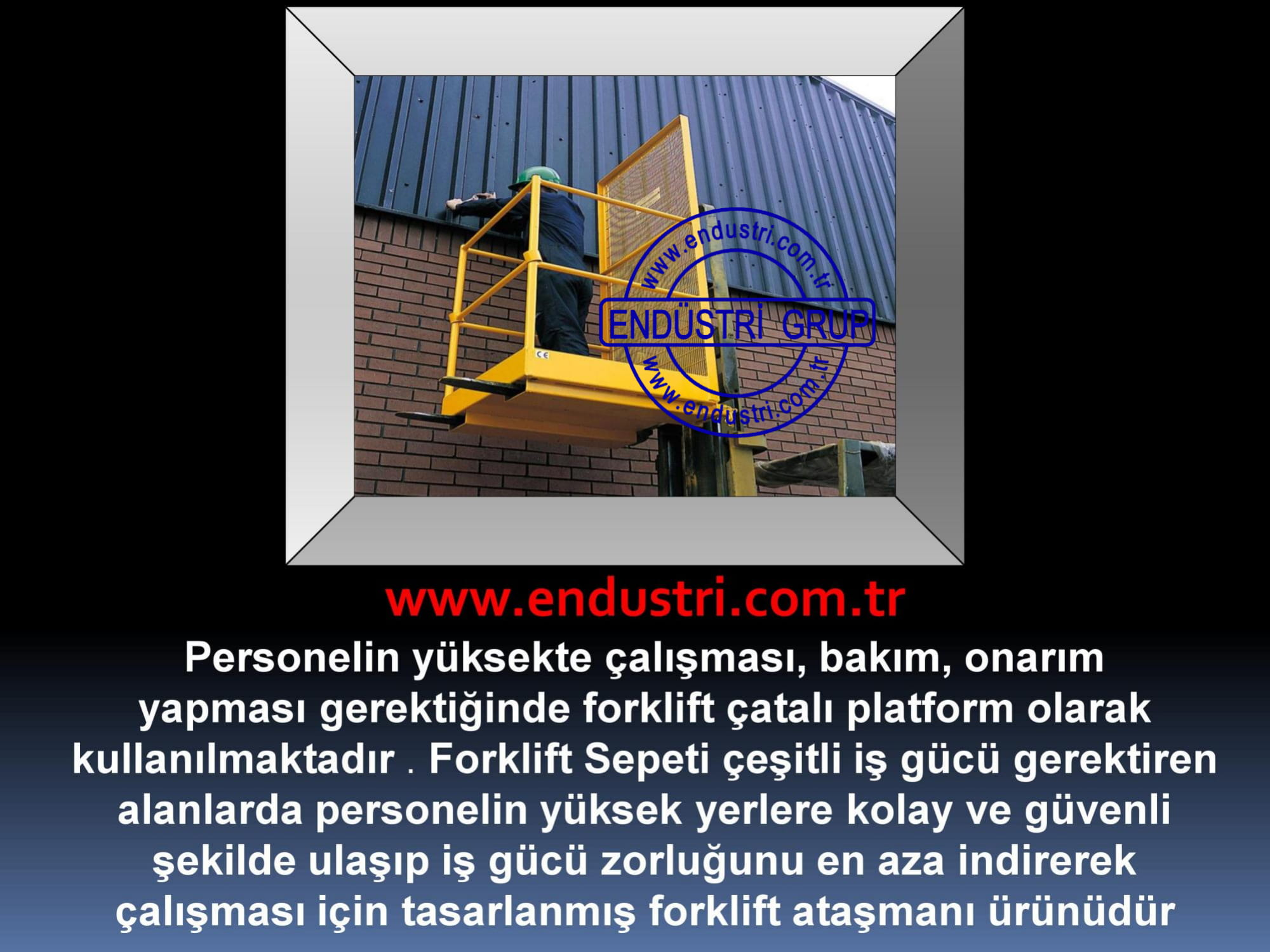 forklift personel tasima sepeti kaldirma ilkyardim bakim tamir sepetleri personel platformu imalati fiyati (4)