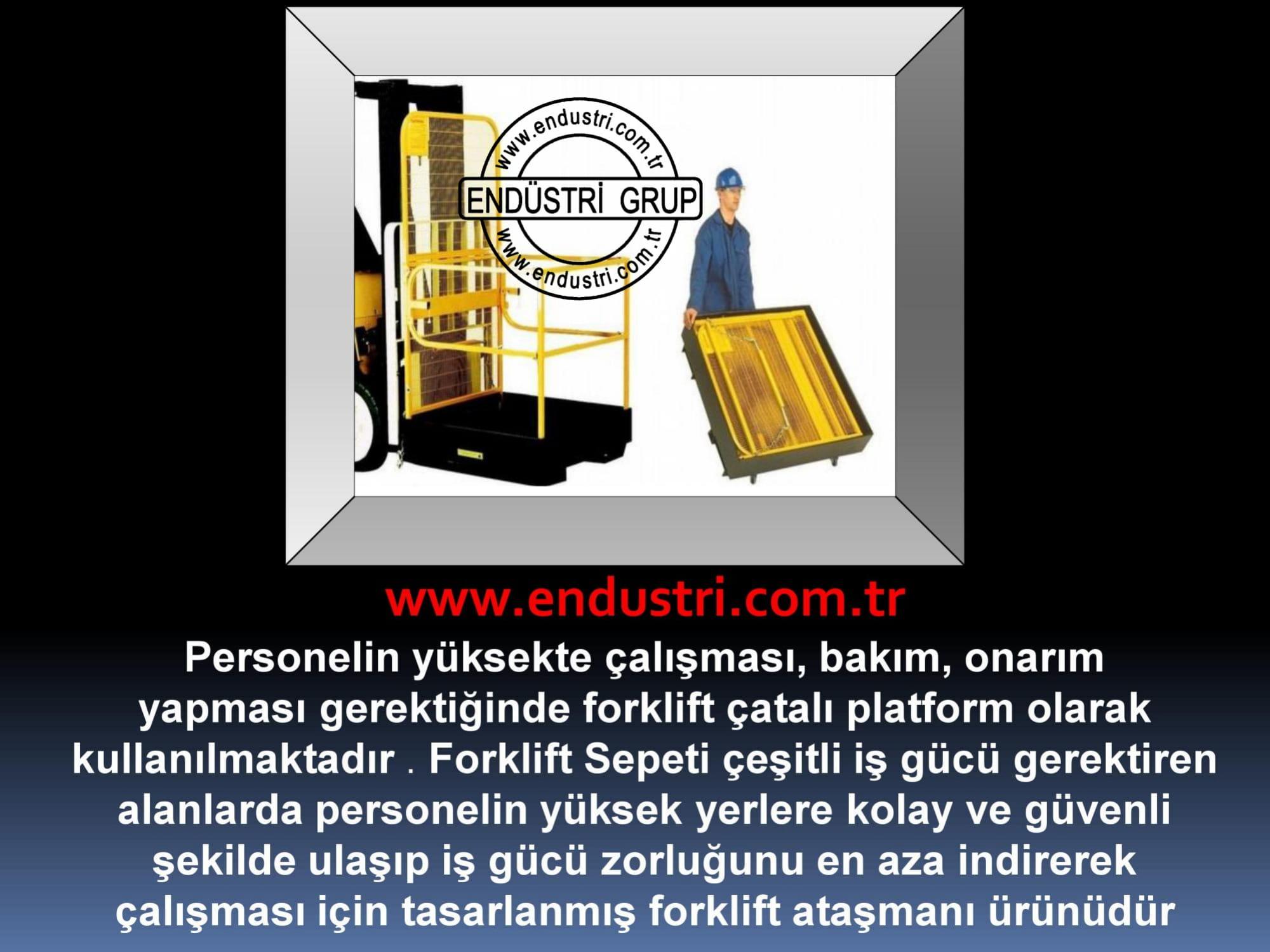 forklift personel tasima sepeti kaldirma ilkyardim bakim tamir sepetleri personel platformu imalati fiyati (7)