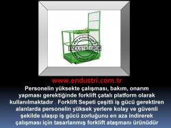 forklift personel tasima sepeti kaldirma ilkyardim bakim tamir sepetleri personel platformu imalati fiyati (3)