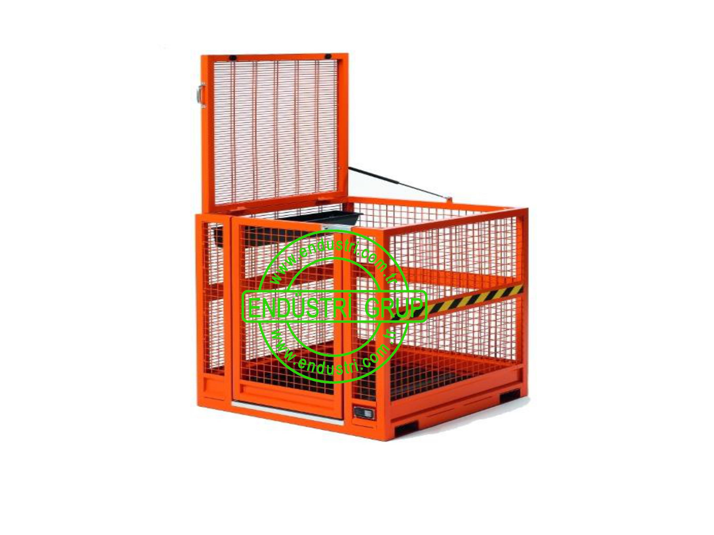 forklift insan tasima sepeti personel kaldirma platformu tamir bakim sepetleri imalati fiyati (20)