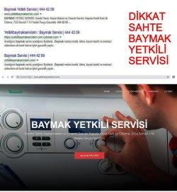Sahte- Baymak-444 42 09-Yetkili-Servisi