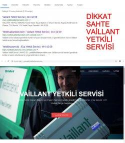 Sahte-Vaillant-444 42 09-Yetkili-Servisi