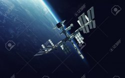 69540028-international-space-station-over-the-planet-earth-