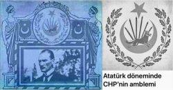 Atatürk dönemi CHP amblemi